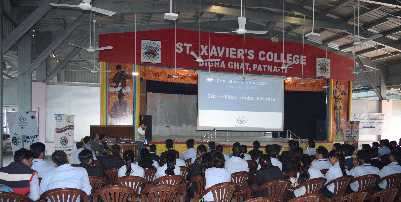 AWARENESS PROGRAMME ON INNOVATION & INCUBATION- ST. XAVIER'S COLLEGE,PATNA