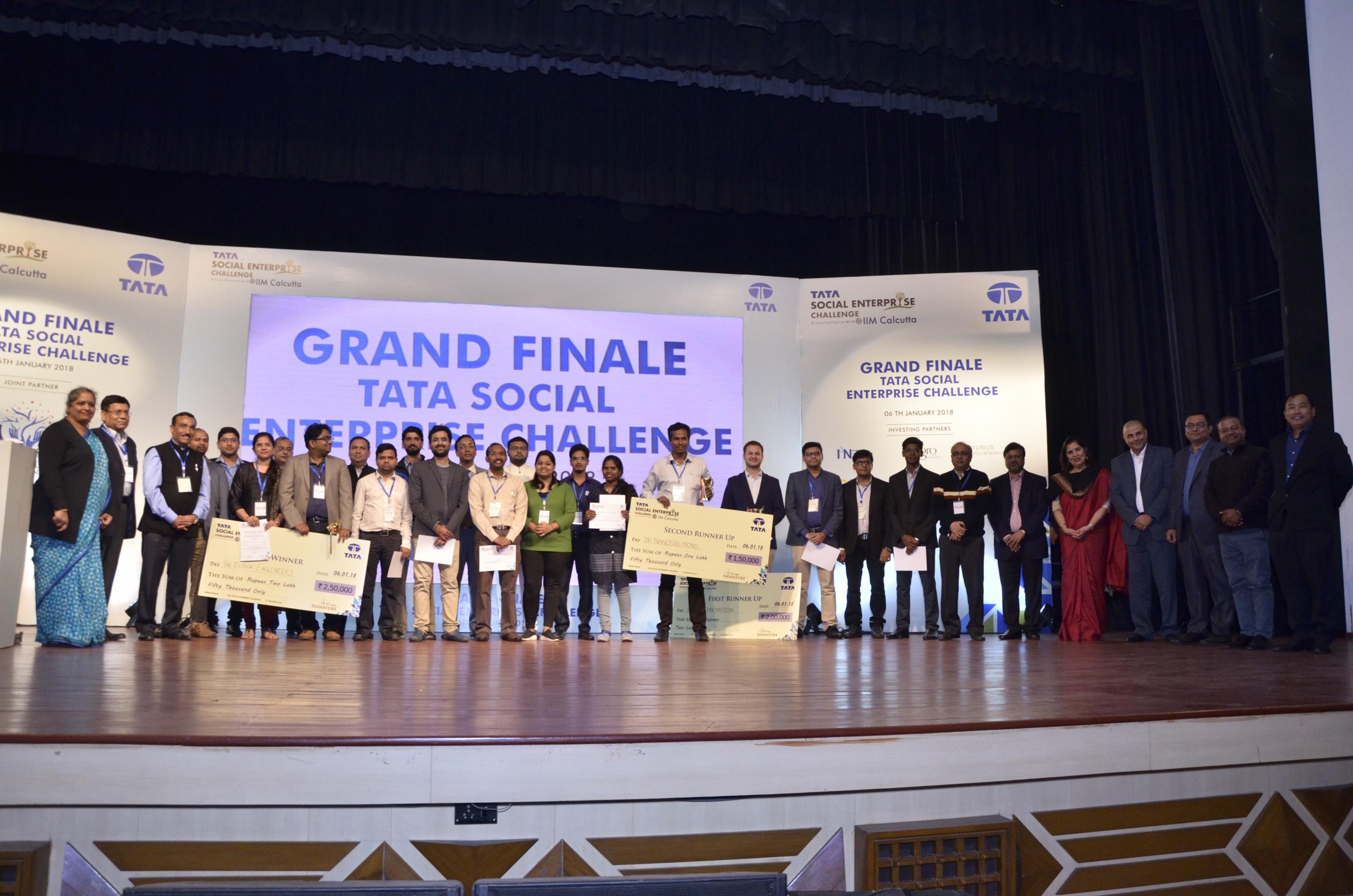 The Elbow Engineers emerges winner of Tata Social Enterprise Challenge 2017-18