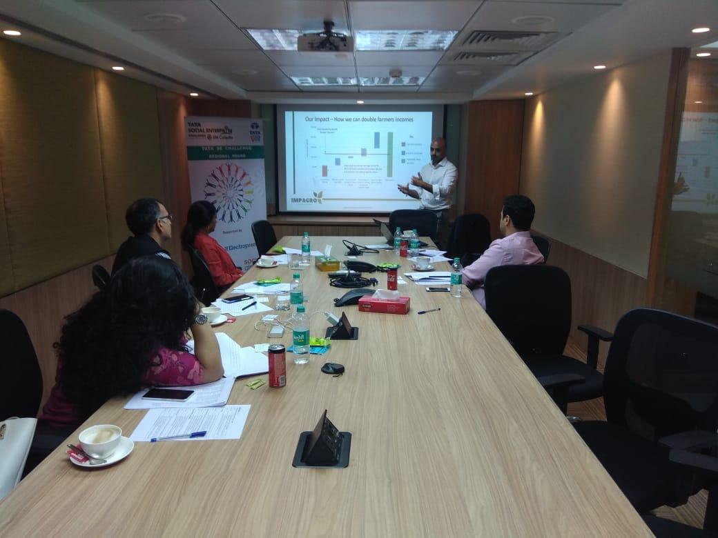 Tata Social Enterprise Challenge 2018- Regional Rounds