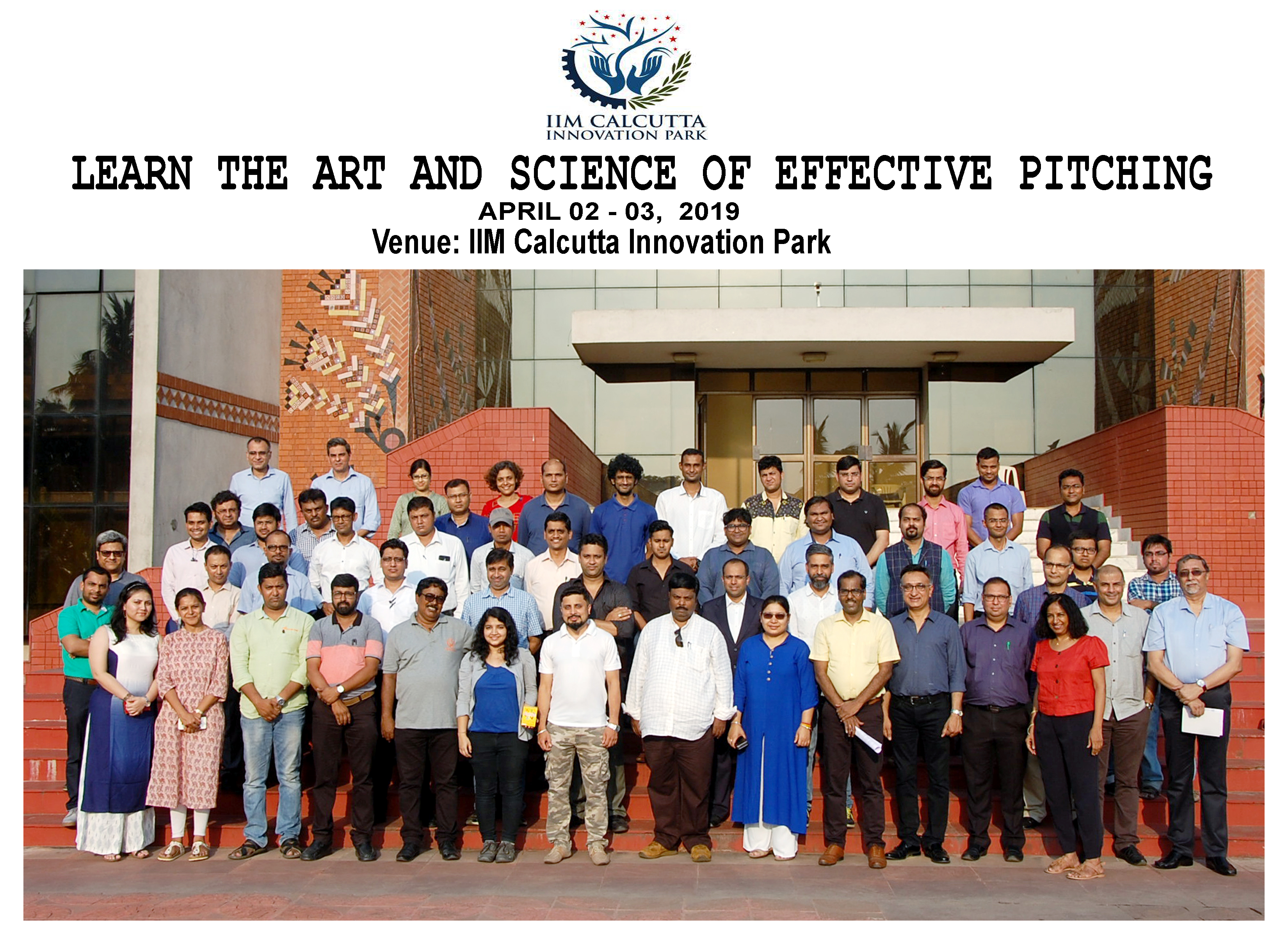 The 'Learn the Art and Science of Pitching' Workshop