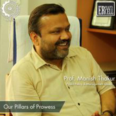 Prof. Manish K. Thakur, Dean NIER